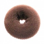 Подплънка за кок кръгла MP HAIR  - кафява