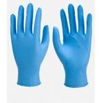 Ръкавици сини нитрил 100 бр. в кутия - размер L