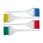 Четка за боядисване на коса прозрачна голяма цветен косъм 00102/56/99